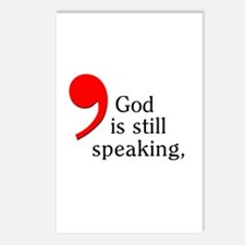 God is Still Speaking Postcards (Package of 8)