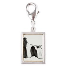 black and white american cocker spaniel Charms