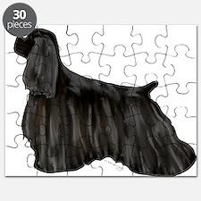 black american cocker spaniel Puzzle