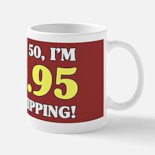 50th Birthday Gag Mugs