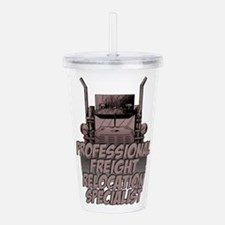 Professional Freight Acrylic Double-wall Tumbler