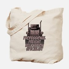 Professional Freight Relocation Speciali Tote Bag