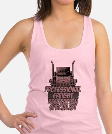 Professional Freight Relocatio Racerback Tank Top