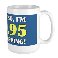50th Birthday Gag Mugs