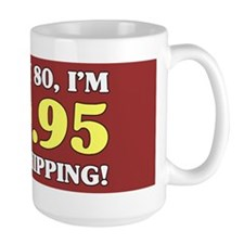 80th Birthday Gag Mugs
