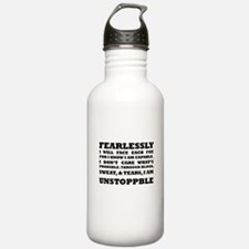 I Am Unstoppable Water Bottle