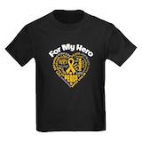 Appendix cancer Kids T-shirts (Dark)