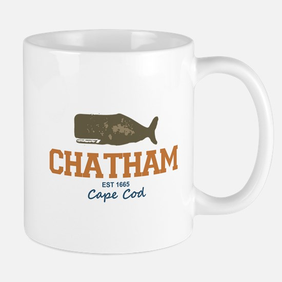 Chatham. Cape Cod. Whale Design. Mug