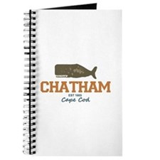 Chatham. Cape Cod. Whale Design. Journal