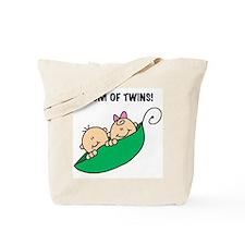 Mom of Twins Tote Bag