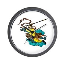 Monkey King Wall Clock