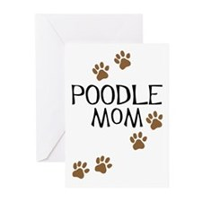 Poodle Mom Greeting Cards (Pk of 10)