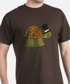 Top Hat Turtle T-Shirt
