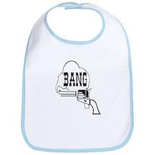 Gun Says Bang! Bib