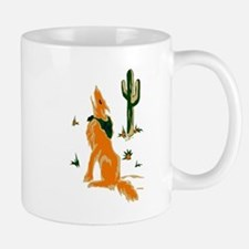 Coyote Howling Mugs