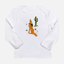 Coyote Howling Long Sleeve T-Shirt