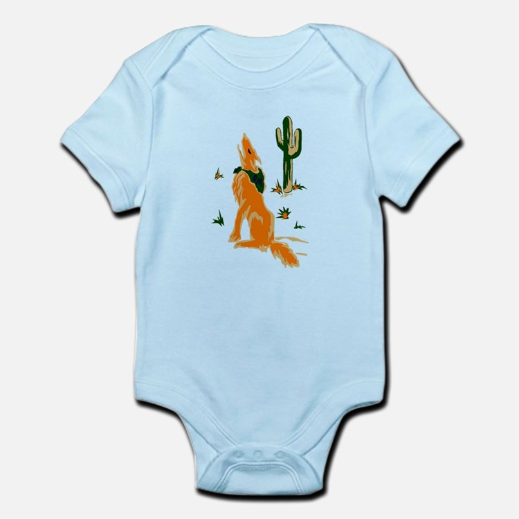 Coyote Howling Body Suit