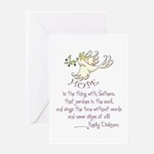 HOPE IS Greeting Cards
