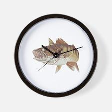 LARGE WALLEYE Wall Clock