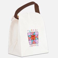 Fabric Junkie Canvas Lunch Bag