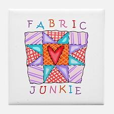 Fabric Junkie Tile Coaster