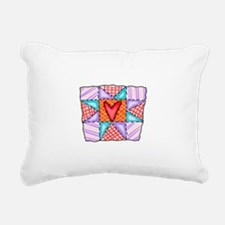 PATCHWORK QUILT Rectangular Canvas Pillow