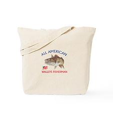 AMERICAN WALLEYE FISHERMAN Tote Bag