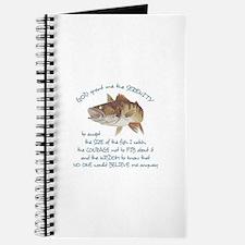 A FISHERMANS PRAYER Journal