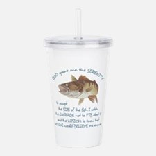 A FISHERMANS PRAYER Acrylic Double-wall Tumbler