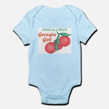 Sweet As A Peach Georgia Gire Body Suit