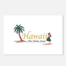 Hawaii The Aloha State Postcards (Package of 8)