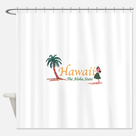Hawaii The Aloha State Shower Curtain