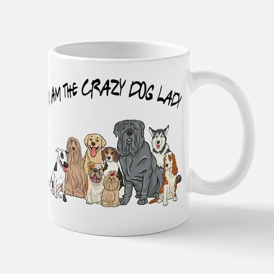I Am the Crazy Dog Lady Mug