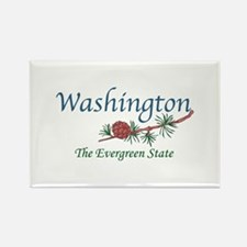 Washington The Evergreen State Magnets