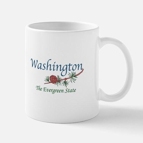 Washington The Evergreen State Mugs