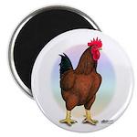 Red Broiler Rooster Magnet