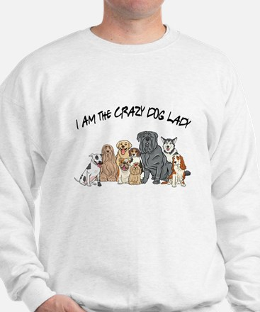 I Am the Crazy Dog Lady Jumper