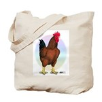 Red Broiler Rooster Tote Bag