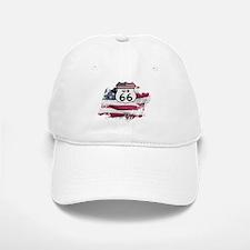 Route 66 Baseball Baseball Baseball Cap