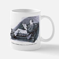 Watson Reads Mug Mugs