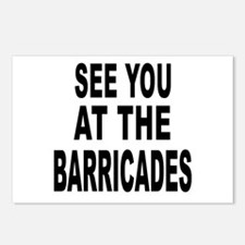 See You at the Barricades Postcards (Package of 8)