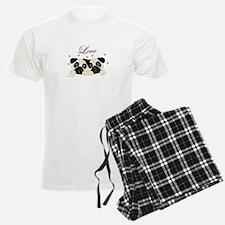 Pugs In Love Pajamas