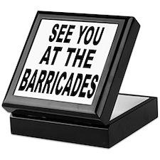 See You at the Barricades Keepsake Box