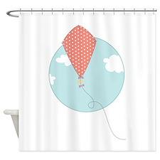 Kite Circle Shower Curtain