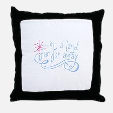 FAIRYTALE BEGINNING Throw Pillow