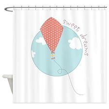 Sweet Dreams Kite Shower Curtain