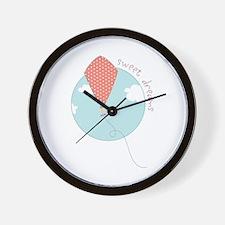 Sweet Dreams Kite Wall Clock