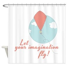 Imagination Fly Shower Curtain
