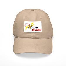 Scuba Monkey Baseball Cap