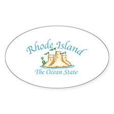 Rhode Island The Ocean State Decal